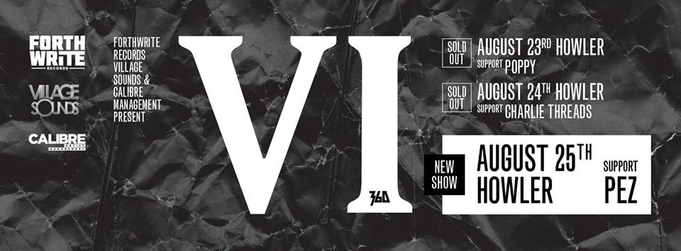 Poppy & Charlie Threads - Join 360 for 'VI' Shows