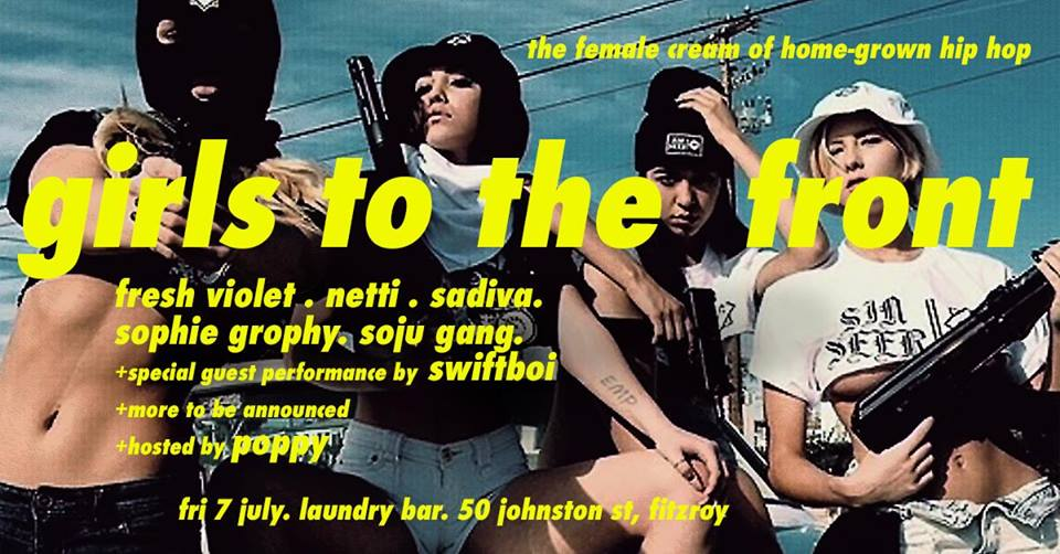 All Female Hip Hop Showcase @ Laundry Bar MLB