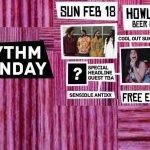 ANY RHYTHM SUNDAY | FEB 18