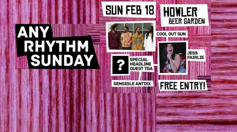 ANY RHYTHM SUNDAY | FEB 18